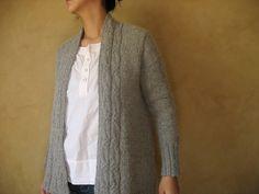 Ravelry: miyayo's Mon Cardi New Pattern