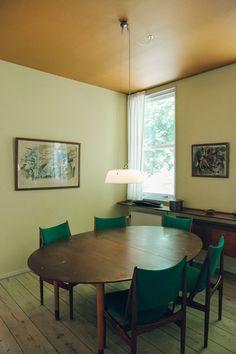 Dining Room at Finn Juhl's House Copenhagen