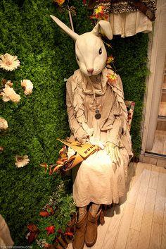 Japanese Mori (Rabbit) Girl in Harajuku by tokyofashion, via Flickr