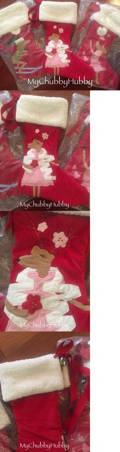 Stockings and Hangers 170091: Nwt Pottery Barn Kids Fair Isle Red ...