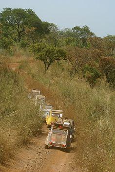 Flickr • citroen 2CV rally • penjari national park • Benin Africa • by Chris Corthouts Feb 13 2007