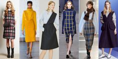 This trend for Fall 2016 is called Schoolgirl Jumper, it was seen in runways shows for Tomas Maier, Each x Other, Trademark, Jason Wu, Suno, and Jil Sander Navy. This trend is a grown up version of school uniforms, it comes in solids, and plaids. This trend is very sophisticated and chic, and for sure to be a hit for the upcoming season's. (Shelly M, 10/17/16)