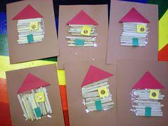 Preschool Playbook: Abraham Lincoln's Log Cabin