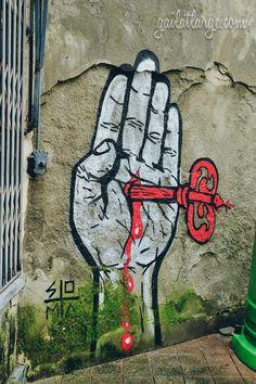 street art by SOMA in Cedofeita, Porto @psyminds17
