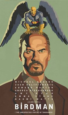 Michael Keaton is Birdman! The acting in this movie was beyond amazing but the movie really needed to have about 30 minutes cut out of it. 4 jujubes