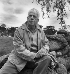Robert Frost  Poetry is when an emotion has found its thought and the thought has found words.