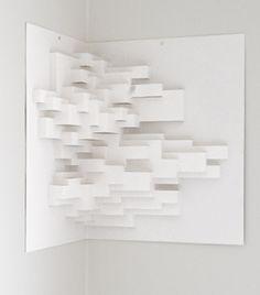Paper sculpture no 1