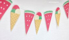 aentschies Blog: Sommer-Wimpelkette *free Printable