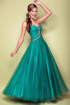 teal blue prom dress prom dress