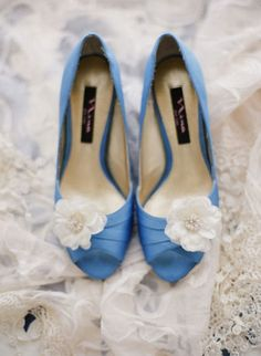 Something blue, blue wedding details, wedding shoes, blue wedding shoes
