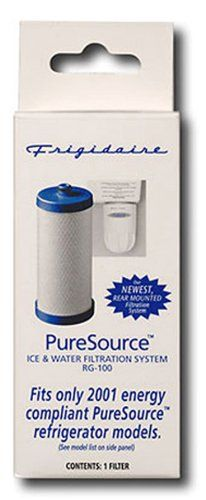 Frigidaire WF1CB Replacement Filter - 1 Pack Water Filters, Water Filtration System, Packing, Bag Packaging, Water Filter
