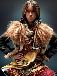 Ethno-Look - Modetrends Herbst/Winter 2010 - MADAME.DE