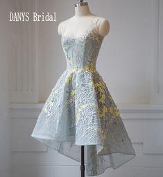 8th Grade Prom Dresses Tulle High Low Party Dresses for Graduation galajurken gala jurken