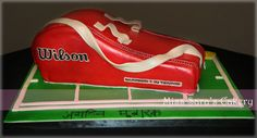 Tennis bag cake