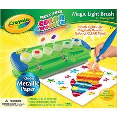 Color Wonder Magic Light Brush w/ Metallic Paper