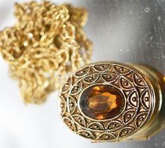 Avon Locket Convertible Brooch Pendant - pinned by pin4etsy.com