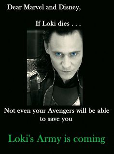 """Thor3. """"@Loki_Page: Possible Spoiler. It's sad to read, but it's a possibility: http://www.cinemablend.com/m/new/3-Big-Reasons-Marvel-Probably-Kill-Off-Loki-67313.html """""""