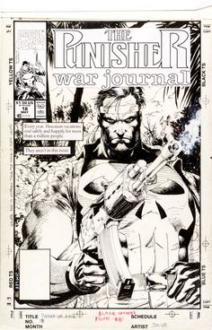 Jim Lee - The Punisher War Journal #18 Cover