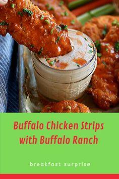 Recipes 🟊🟊🟊🟊🟊 Buffalo Chicken Strips with Buffalo Ranch Relish Recipes, Carrot Recipes, Bacon Recipes, Healthy Recipes, Escarole Recipes, Fennel Recipes, Yummy Appetizers, Appetizer Recipes
