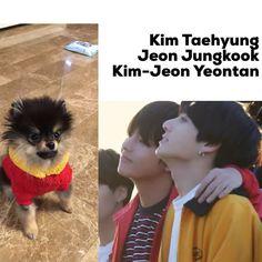 148 vind-ik-leuks, 3 reacties - Taelunakook (@taelunakook) op Instagram: 'Like Dads, Like Son.... They r so cute *i should be sleeping by now #taekook #vkook #jungkook…'