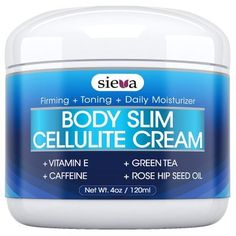 Cellulite Cream With Caffeine  Retinol  Best Anti Cellulite Triple Action Treatment for Body Firming Tightening  Toning  Erase Dimples from Arms Legs Buttocks  Stomach  4 oz  By Sieva Skincare * Read more  at the image link.