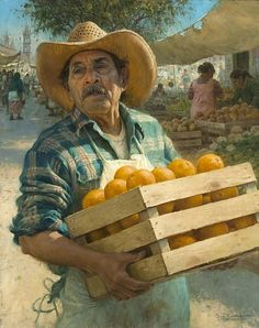Naranjas en Venta   by Scott Tallman Powers