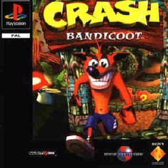 Crash Bandicoot! When I was younger me & April played for hours