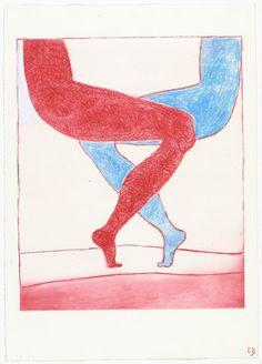 Louise Bourgeois. Legs, state III. 2002