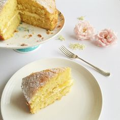 This lemon and elderflower drizzle cake is so light and zesty, with a hint of elderflower. It would be perfect for afternoon tea or for a summer picnic!