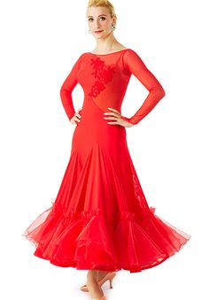 Taka Womens Dress 3S-00140   Dancesport Fashion @ DanceShopper.com