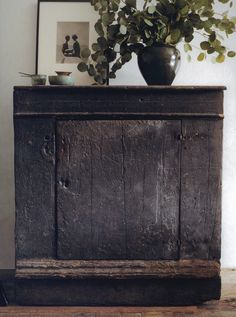 Love this ancient cabinet! Wabi Sabi (Ma) from 'Interiors | Atelier AM' via Aesthetically Thinking blog