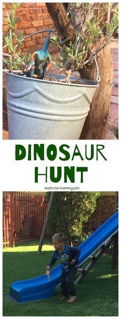 D is for Dinosaur Hunt!