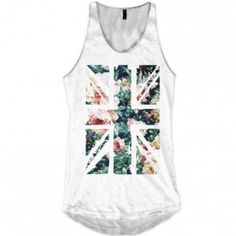 Uk Flower Cross Allinclusive Apparel Ladies Vest