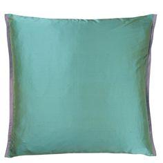 Sashiko Heather Throw Pillow | Designers Guild