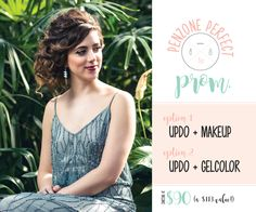 Prom Offers! Updo + Traditional Makeup or Updo + GelColor Mani. Starting at $90 (a $113 value!)