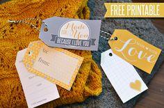 Free Gift Tag Printable. Tags for handmade gifts. | Jordana Paige http://jordanapaige.com/blog/2013/05/free-gift-tag-printable.html#sthash.iCC2wmUQ.dpbs