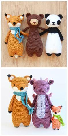 Amigurumi patterns by Little Bear Crochets: www.littlebearcrochets.com ❤️ #littlebearcrochets #amigurumi #crochet