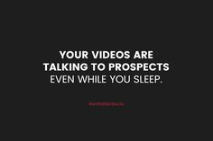 How do you nurture leads while you sleep as if you\'re beside them? #inboundmarketing #leadgen #videomarketing