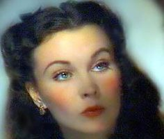 beautiful Miss Scarlett O'Hara, played by Vivien Leigh...♥