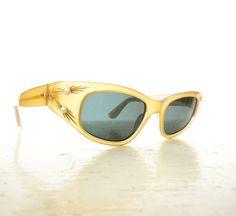 Vintage 1950s Sunglasses / 50s Sunglasses / by SmallEarthVintage