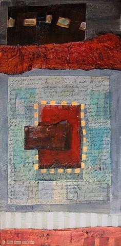Mixed media Art, Painting, Acrylic, Encaustic, Multi-media art