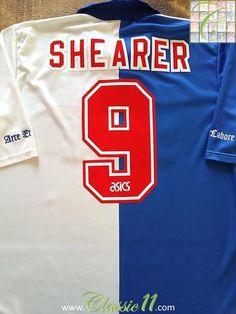1994 95 Blackburn Rovers Home Football Shirt Shearer  9 (XL) b700e98bc