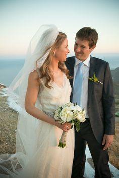 Beautiful Greek island wedding! #greekislandwedding #keaisland #rusticwedding  See more here http://www.love4wed.com/greek-island-wedding-kea/