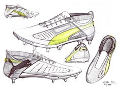 freehand sketches for sporting goods design