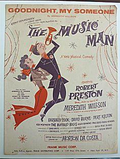 Sheet Music For 1957 Good Night, My Someone