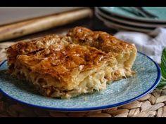 Εύκολη κοτόπιτα με φύλλο σφολιάτας. Χωρίς μαγειρικές υπερβολές , με νόστιμα υλικά που συνοδεύουν το κοτόπουλο Lasagna, Ethnic Recipes, Food, Essen, Meals, Yemek, Lasagne, Eten