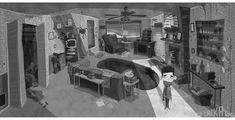 Novas artes de Paranorman criadas por Pete Oswald | THECAB - The Concept Art Blog