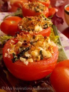 tomate farcies feta epinard