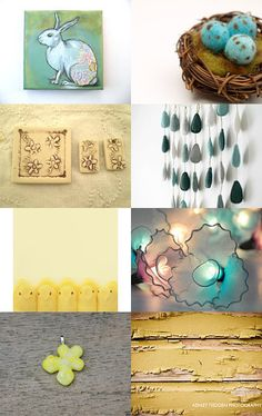 Easter-y by Laura Prill on Etsy--Pinned with TreasuryPin.com
