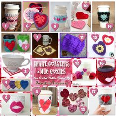 Be Mine Coasters & Cozies! | A LOVE Round Up by Rebeckah's Treasures
